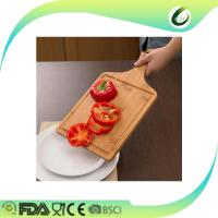 Buy cheap Bamboo pizza paddle with long handle from wholesalers