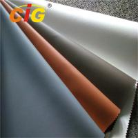 Buy cheap Colorful PVC Upholstery Leather , 0.6mm -1.2mm Upholstery PVC Leather Anti Mildew product