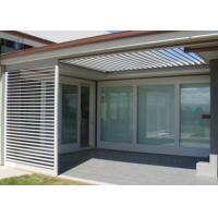 Buy cheap Australia Home Window Shutters / Aluminum Louvre Windows For Decoration & Airflow from wholesalers