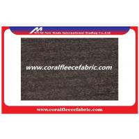 Buy cheap Grey Lambs Wool Blend Fabric Melton Wool Serge Fabric with Wool / Polyester Material from wholesalers