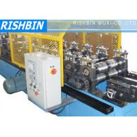 Buy cheap Ridge Flashing Roof Panel Roll Ridge Cap Forming Machine with Hydraulic Cutting from wholesalers