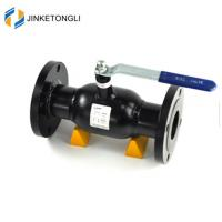 Buy cheap made in china autonomous marketing no leak double flange ball valve dn100 from wholesalers
