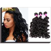 Buy cheap New Arrival Big Curly Raw Material Brazilian Human Hair Bundles No Fizzle 100G Per Piece from wholesalers