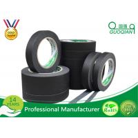 Buy cheap Low Stretch Black Colored Masking Tape waterproof For Painting / Decorative from wholesalers