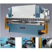 Buy cheap Motorized-adjusting  sheet metal bending machine press brake with 60 - 75mm/s Bending speed from wholesalers