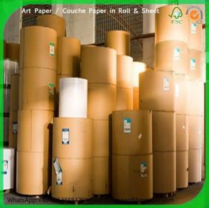 Buy cheap 100g 105g 115g 135g 140g 150g 157g 170g 180g 200g 250g 300gsm c2s glossy art paper art board product