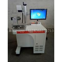 Buy cheap 20w Portable CNC Marking Machine , Color Fiber Laser Marking Machine product