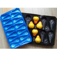 Buy cheap Disposable Perforated PP Fruit Tray For Pear from wholesalers