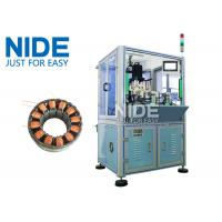 Buy cheap Automatic BLDC double working stations Burshless motor stator needle winding machine / Stator ID 10-100mm from wholesalers