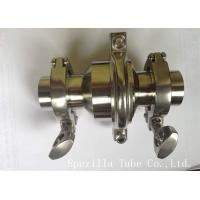 Buy cheap ASTM A270 Stainless Steel Sanitary Valves / Elbow Valves With Tight Tolerances from wholesalers