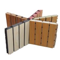 sound absorbing wooden grooved acoustic panel decorative wall board for music room 108064469. Black Bedroom Furniture Sets. Home Design Ideas
