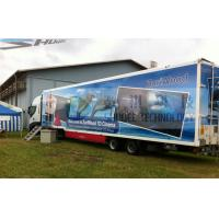 Buy cheap 12 Seats Imax Movie Theaters Truck Mobile 5D Cinema With Projectors Screen product