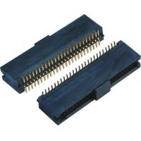 Buy cheap Double Low 44-60 Pins , 10 Pin Header SMT Female Pin Headers With Cap  LCP Plastic product