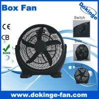 Buy cheap High velocity plastic 18 inch electric box fan with 5 AS blade (KYT45-01) from wholesalers