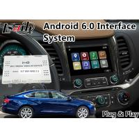 Buy cheap Android 6.0 Car Multimedia Navigation System for Chevrolet Impala / Colorado Mylink System 2015-2018 from wholesalers