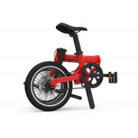 Buy cheap LCD Display Folding Electric Bike , Lithium Battery 36V 250W Foldable Electric Bike from wholesalers