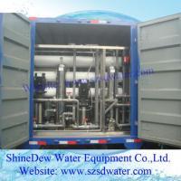5tph Ro Portable Water Equipment Vehicle Machine