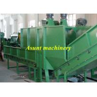 Buy cheap Single air exhaust PET Recycle Machine 500kg / h High efficiency Plastics Extrusion Machinery from wholesalers