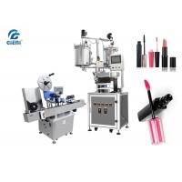 Pearl Essence Mateials Lipstick Filling Machine 9kw With Horizontal Labeller