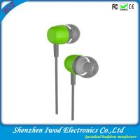 Buy cheap china best selling electronic products cheap fashion aluminum headphones plastic earbuds from wholesalers