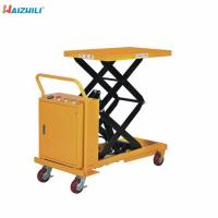 Buy cheap High Capacity X Lift Table 1500mm Lifting Height from wholesalers