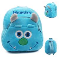 Buy cheap New Monsters University Sulley Kids School Backpacks Personalized , Blue from wholesalers