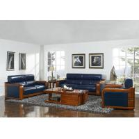 Buy cheap High end quality 1+2+3 Solid wood Leisure sofa set by Fabric and density sponge from wholesalers