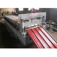 Buy cheap PLC Control IBR Sheet Metal Roll Forming Machines 13 Rows with 0.3-0.7mm Thickness from wholesalers