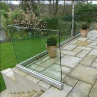 Buy cheap New arrive aluminum U channel glass railing with high quality from wholesalers