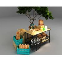 Buy cheap Car Design Bakery Display Racks / Bread Display Showcase Automobile Styling from wholesalers