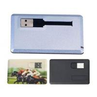 Buy cheap Credit Card USB Flash Drive, OEM USB Flash Disk from wholesalers
