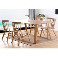 Buy cheap Funky Wooden High Back Dining Chairs , Recliner Contemporary Light Oak Kitchen Chairs from wholesalers