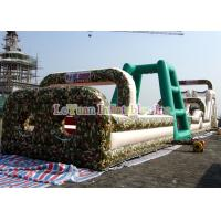 Buy cheap Boot Camp Inflatable Obstacle Course , Huge Inflatable Outdoor Play Equipment from wholesalers