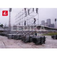 Buy cheap Customized Layer Truss Heavy Duty Dj Speaker Stands 520x1000 Mm from wholesalers