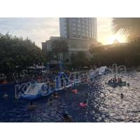 Buy cheap Commercial Grade Kids Blow Up Water Park , Giant Inflatable Water Sports product