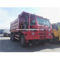 Buy cheap 70 Tons Howo Mining Dump Truck ZZ5707S3840AJ 32m3 Body Half Cabin for Nickel Minerals product