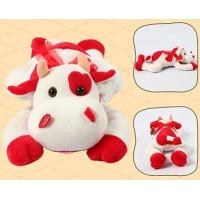 Buy cheap Promotion Gifts Lovely Red Cow Shape Custom Small Stuffed Animals For Children product