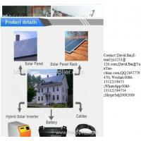 Buy cheap complete Off grid tied Solar Power Generator Solar Home Power System from wholesalers