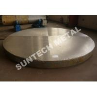 Buy cheap SB265 Gr.7 Titanium Clad Plate Tubesheet for Anti-crevice Corrosion from wholesalers