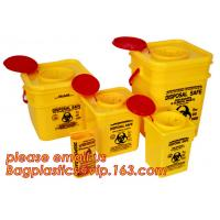 Buy cheap for hospital use Medical waste sharps container, Sharps Box/ sharps containers, sharpsguard yellow lid 1 ltr sharps, sha from wholesalers