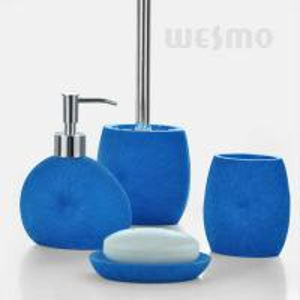 Blue bath accessories quality blue bath accessories for sale for Blue bath accessories set