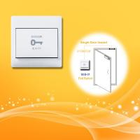 Buy cheap Smart Wireless Exit Button Glass Panel Mobile Phone Control Support Local Unlocking / Locking from wholesalers