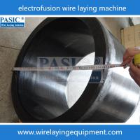Buy cheap CNC COUPLING SOCKET wire laying machine for Electrofusion elbow PC-400/800ZF ef winding machine from wholesalers