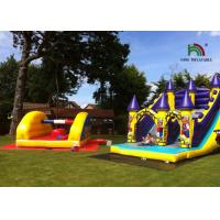 Buy cheap Commercial Waterproof Inflatable Dry Slide , Sewn Slide Water Castle CE Certificated from wholesalers