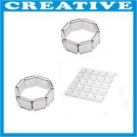 Buy cheap 25mm x 25mm clear epoxy resin dome sticker product
