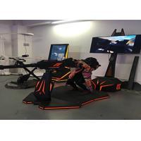 Theme Park Virtual Reality Motion Simulator , Shooting 9D VR Game Machine