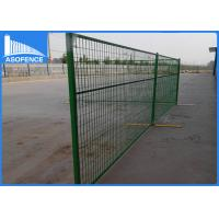 Buy cheap Temporary Chain Link Fence Panels , Anti - Rust Temporary Construction Fence from wholesalers