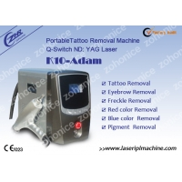 Buy cheap 532nm Portable Q Switched Yag Laser Tattoo Removal Machine from wholesalers
