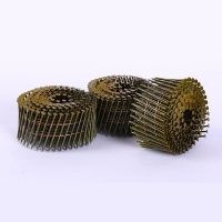 Buy cheap Yellow Stainless Steel Ring Shank Coil Siding Nails from wholesalers
