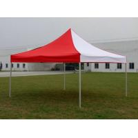 Buy cheap Custom Red / White Gazebo Folding Tent Aluminum Frame For Exhibition Advertising from wholesalers